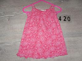 420 Hängerchen Blumen pink Gr. 74