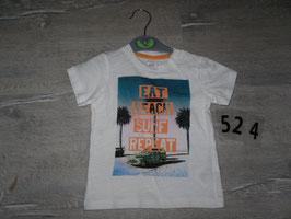524 Shirt Beach Auto H&M  Gr. 74