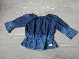 3124 LA Jeans Tunika , an der Hüfte Gummizug tailliert von 7 FOR ALL MANKIND Gr. 86/92