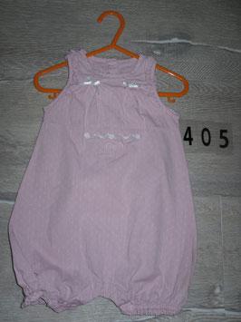 405 Hosenanzug rosa mit Stickerei von SERGENT MAJOR Gr. 80