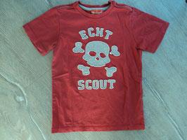 SS-66 Shirt korall -Appli Totenkopf Echt Scout von SCOUT Gr. 116/122