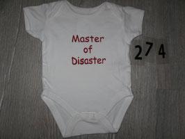 274 Body MASTER  OF DESASTER Gr. 50/56