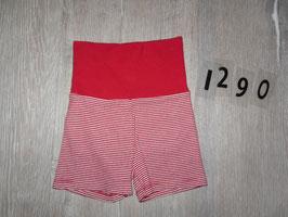 1290 Kurze Hose rot weiß gestreift von STEIFF Gr. 62