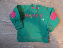 3118 Pulli im tollen grün mit Pailletten Happy von LIEF! Gr. 80