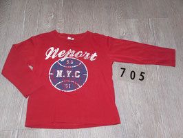 705 LA Shirt rot NEPORT Gr. 92