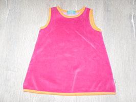 1446 Designer Kleid pink orange aus Nickie von TRAGWERK MÜNCHEN Gr. 80/86