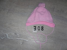 308 Wintermütze mit Bommel Gr. 45-47