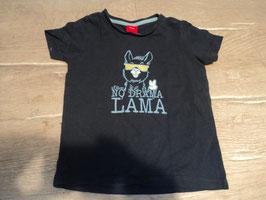 """2472 Shirt dunkelblau """"No Drama Lama """" von S'OLIVER Gr. 86"""