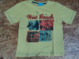 122 Shirt in gelb West Beach 73 von REBEL Gr. 116/122