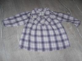 1337 Karrierte Bluse lila von H&M Gr. 68