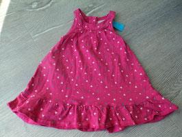 V-57 Kleidchen in pink mit bunten Herzchen von TOPOMINI Gr. 74