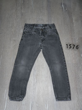 1576 Black stoned washed Jeans von KARSTADT Gr. 104