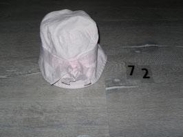 72 Mütze rosa mit Schleife von Vertbaudet Gr. 4-5 Jahre