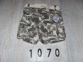 1070 Shorts Camouflage Dschungel  mit Gürtel Gr. 62