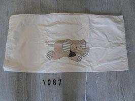 1087 Bezug 80x80 mit Elefant von STERNTALER