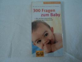 487 Buch 300 Fragen zum Baby von GU