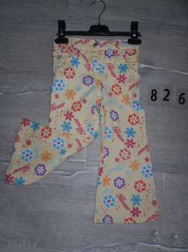 826 Schlagjeans Flower Gr. 92