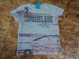 290 Shirt mit Surfer von BENETTON Gr. 82