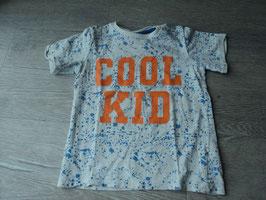 Y-29 Shirt mit blauen Farbklecksern -Cool Kid Aplli von H&M Gr. 92