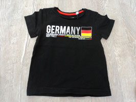 2556 Shirt schwarz Deutschland von PALOMINO Gr. 92