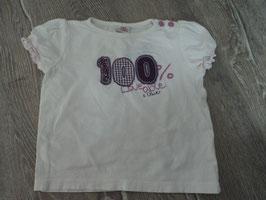 967 Shirt weiß 100% Loveable von S'OLIVER Gr. 80