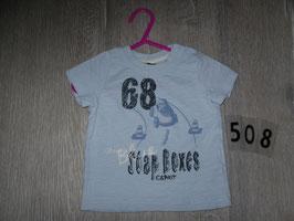 508 Shirt hellblau Stop Box von ESPRIT Gr. 68