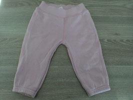 Y-79 Mega süsse Hose aus Sweatstoff in rosa und hinten am PO Katzengesicht von BENETTON Gr. 68