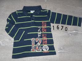 1670 Shirt gestreift von BOB der Bär Gr. 98