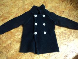 V-52 Dickere Jacke in dunkelblau mit Knöpfe von ALANA Gr. 80 fällt aber eher wie 74 aus