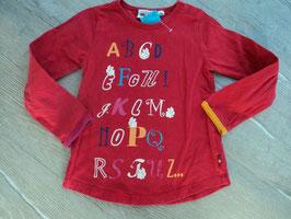 SS-22 LA Shirt rot mit ABC und Hasen von LEGO WEAR Gr. 104