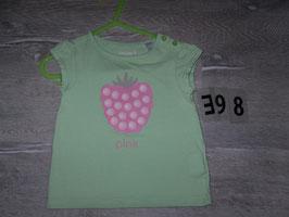 398 Shirt mint mit Erdbeere von OBAIBI Gr. 81
