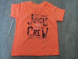 2517 Shirt neon orange STC BABY Jungle Crew von STACCATO Gr. 86