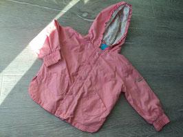 V-53 Leichte Jacke in rosa mit Rüschen von KANZ Gr. 80