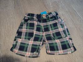 2739 Kurze karrierte Shorts weiß blau grün rot von BLUE SEVEN MINI KIDS Gr. 68