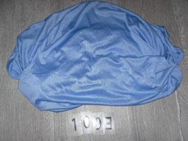1093,1094 Spannbettlaken blau Größe 70x140