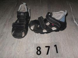 871 Sandalen schwarz von ELEFANTEN Gr. 26