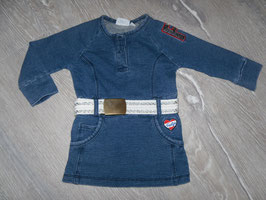 1108 Tolles Kleid blau mit Gürtel voon FEETJE Gr. 74