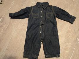 2705 Gefütterter Jeans Overall von JAKO-O dunkelblau  Gr. 56/62