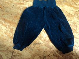 AL-188 Pumphose dunkelblau aus Frottee von ALANA Gr. 74