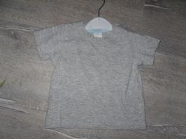 525 Shirt grau Uni H&M  Gr. 74