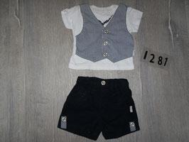 1281 Sommer Set Shirt mit Hose von CITIR Gr. 86