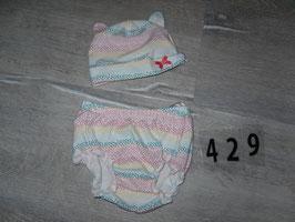 429 Zuckersüßes Set pastell Farben Gr. 62