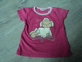 3017 Shirt pink rosa mit Jolly Mäh von NICI Gr. 18 Mon