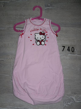 740 Schlafsack Hello Kitty Übergang Gr. New Born