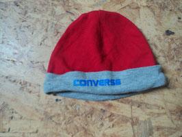 AL-116 Mütze in rot/grau von CONVERSE Gr. 74/80