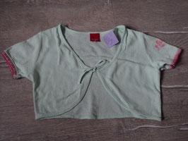 3155 Toller Bolero in mint grün pink Glitzer von ESPRIT Gr. 116/122