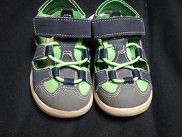 AL-76 Sandalen blau/grün von PEPINO Gr. 23