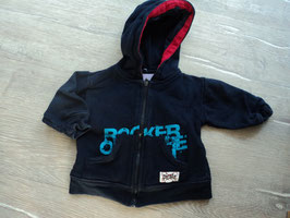 P-30 Kapuzensweatjacke in dunkelblau Rocker Pirate  Gr. 68