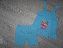 377 Mega süßes Set Hängerchen und Shorts türkis von STACCATO Gr. 92/98