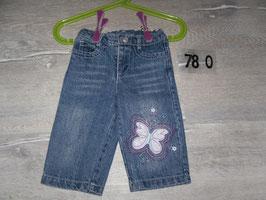 780 Jeans mit Schmetterling Gr. 68